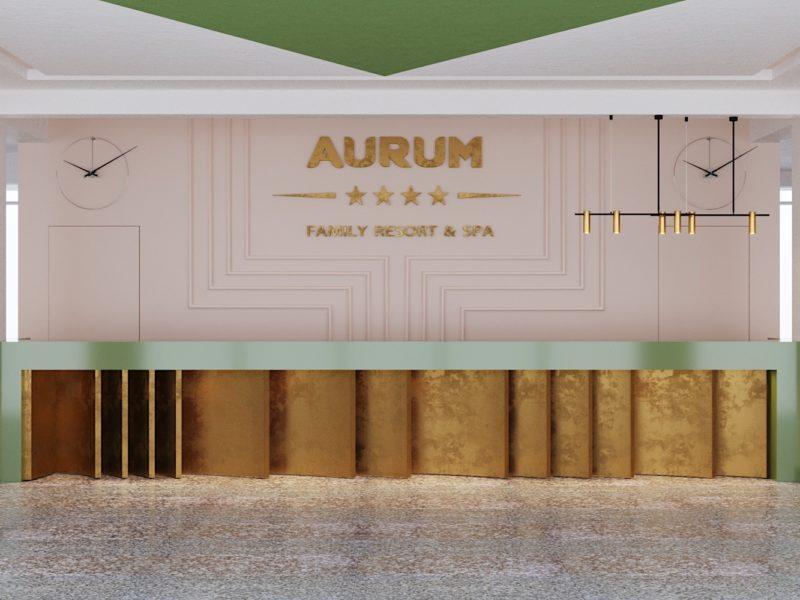 Отель в Благовещенской Aurum, 2018г.
